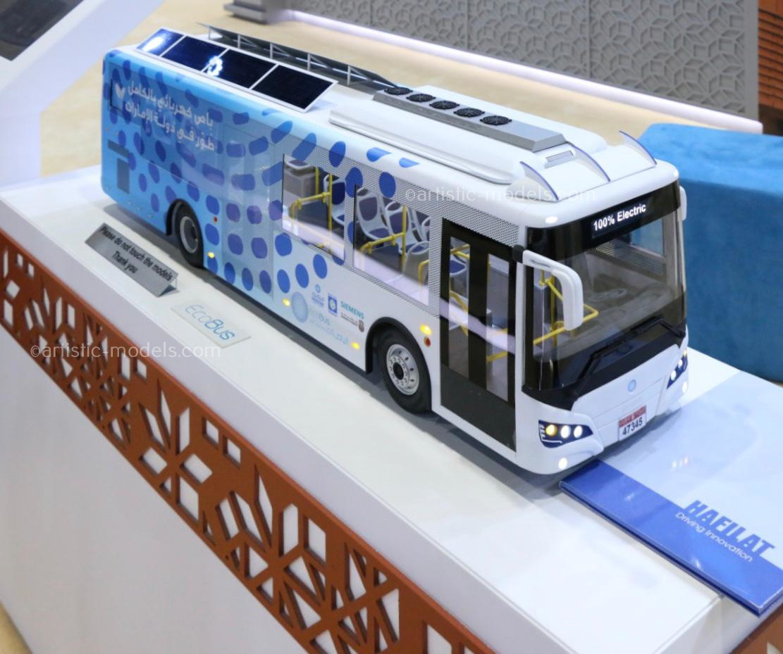 Scale model Eco Bus