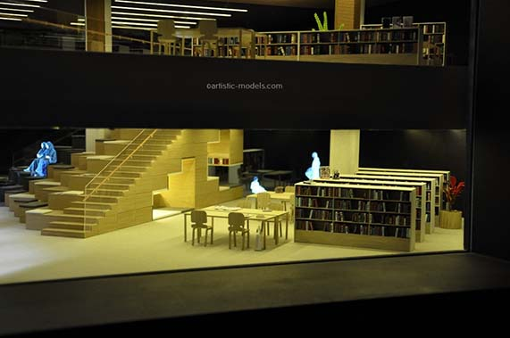 interior models with hologram image-3