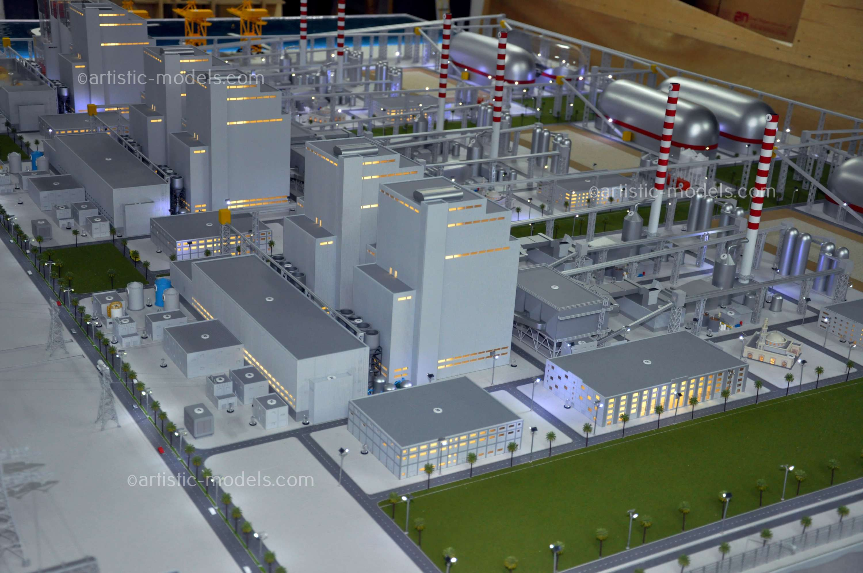 Industrial Scale Model   Hassyan Clean Coal Power Station